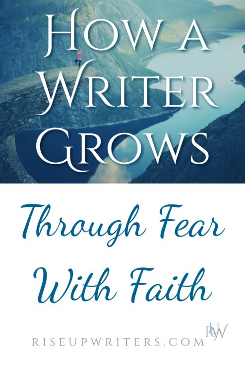What role does fear play in your writing life? It can paralyze us, or Faith Exercised And Released can move us through fear with faith.