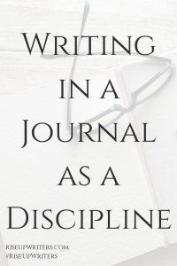 Writing in Journal as Discipline
