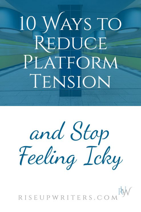Christian communicators often experience tension around building a platform. They feel icky. Here are 10 ways to reduce platform tension so you can serve well.