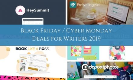 Black Friday / Cyber Monday Deals for Writers 2019